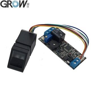 GROW K202+R307 DC12V Low Power Consumption Fingerprint Recognition Access Control System+R307 Optical Sensor - discount item  5% OFF Access Control