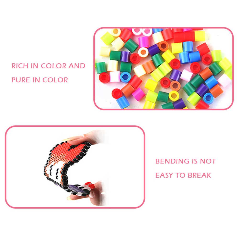 13000 قطعة/صندوق 2.4 مللي متر حماة الخرز للأطفال Puzzles بها بنفسك الألغاز الحديد الخرز طفل اليد صنع الذكاء ألعاب تعليمية التشيكية الزجاج البذور