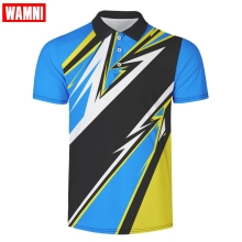 WAMNI 3D Polo Shirt Casual Sport Wear Tennis T Shirt Turn-down Collar Raglan Male Harajuku High Quality Button Polo casual color block half button polo t shirt