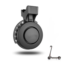 for Xiaomi Mijia M365 Electric Scooter Electronic Bell USB Charging Waterproof Horn for MTB Road Bike 3 Modes Ring Bicycle Alarm