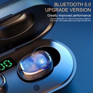 Image 3 - B5 TWS Bluetooth 5.0 Tai Nghe Không Dây Tai Nghe Có Mic Thể Thao Chống Nước Mini Tai Nghe Nhét Tai Tai Nghe Cho iPhone IOS Điện Thoại Xiaomi