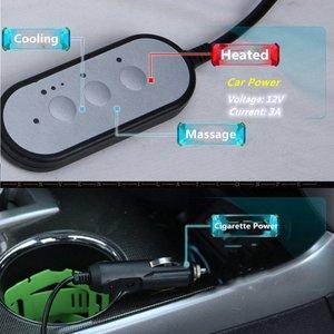 Image 3 - Capa universal de assento de carro 3 em 1, para automóveis com refrigeração, aquecimento e massagem capas de assento