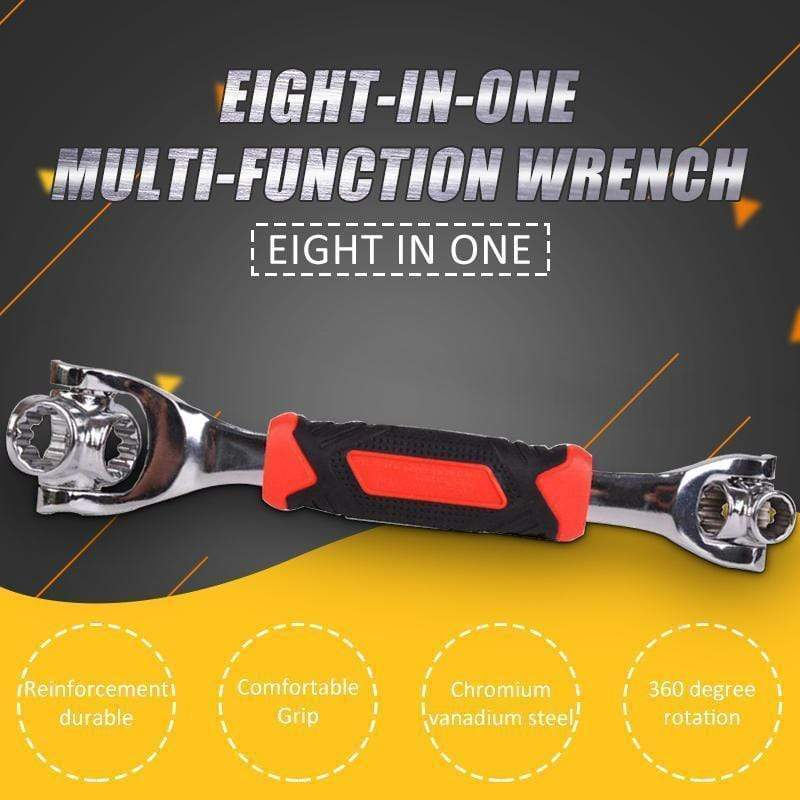 Eight-in-one multi-function wrench Multi-function 4 In 1 Universal Cross Key for Train Electrical Elevator Cabinet