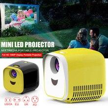 Мини Портативный проектор светодиодный домашний кинотеатр HD 1080P дисплей USB/HDMI/TF карта интерфейс OUJ99