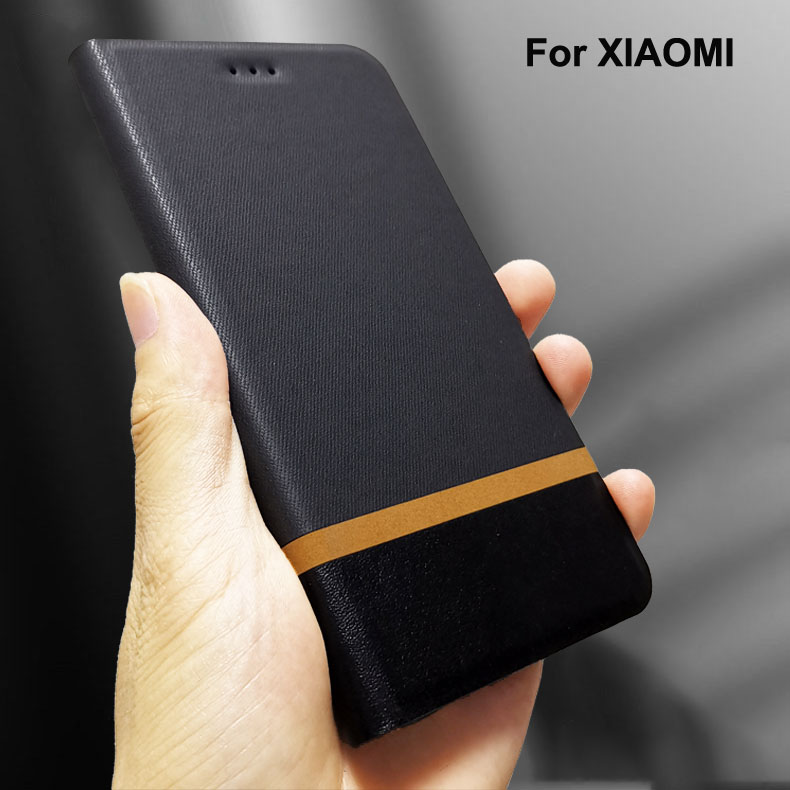 <font><b>Flip</b></font> Leather <font><b>case</b></font> For <font><b>xiaomi</b></font> <font><b>mi</b></font> cc9 cc9e 8 <font><b>9</b></font> se 9t pro 5 5s 6 6x 5x play a1 a3 a2 lite mix note 3 pocophone f1 phone Cover <font><b>Case</b></font> image
