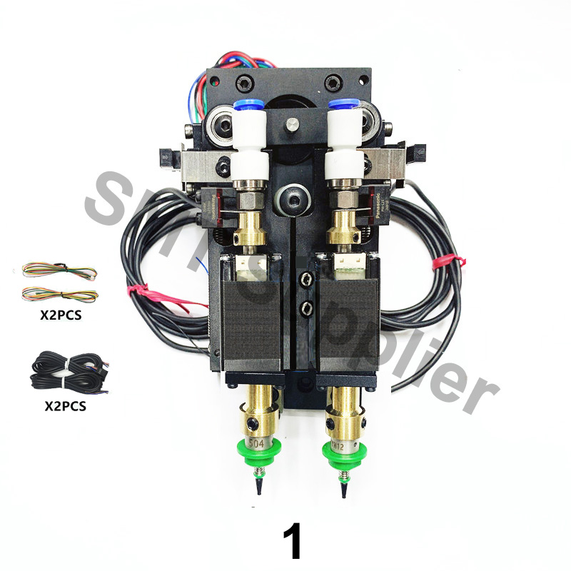 Image 2 - Update BT2030 SMT DIY Steppor Motor Rotary Joint mountor connector Nema8 hollow shaft stepper for pick place Double headPneumatic Parts   -
