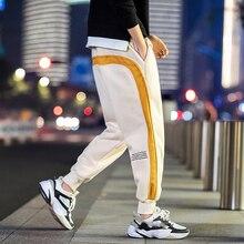 Sweatpants Men Trousers Jogger 95%Cotton Waist Hip-Hop Spring L-6xl-Inch Autumn