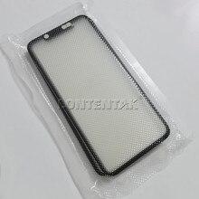 Pantalla de cristal exterior para iPhone 12Pro 12mini 11Pro 11PROmax, con OCA oled, lcd, digitalizador, Panel táctil frontal de reemplazo, 5 unids/lote