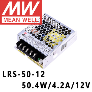 Image 1 - Mean Well LRS 50 12 meanwell 12VDC/4.2A/50W Single Output Switching Power Supply online store