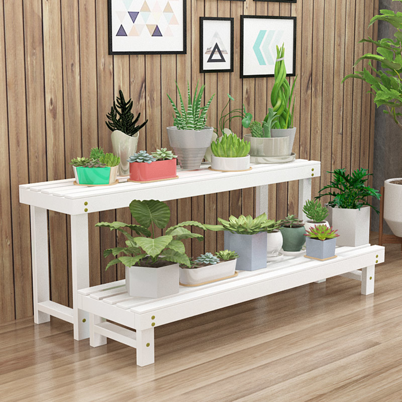 Household Balcony Single Flower Stand Room Domestic And Foreign Multi-storey A Living Room Flowerpot Frame