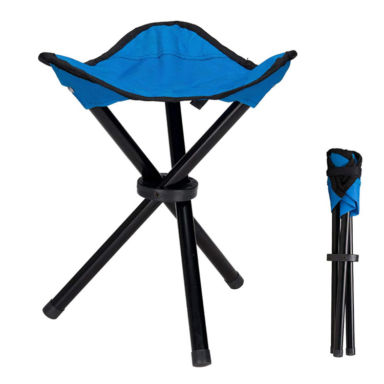 Outdoor Camping Triangular Folding Stool Chair Foldable Fishing Chairs Lightweight Portable Small Fishing Beach Picnic Stool