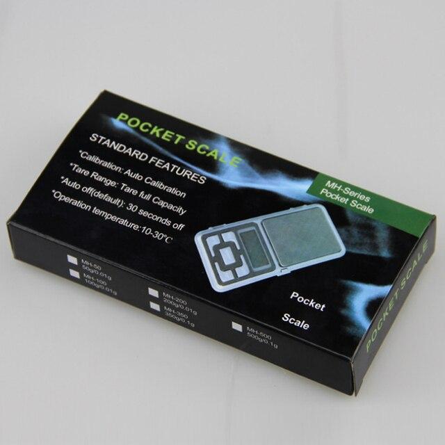 Mini Balance Balance de haute précision Balance de poche précision électronique bijoux balances de poids 500g X0.01g Mini balances numériques