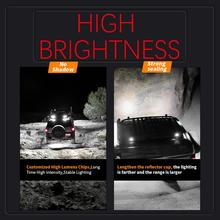 цена на 69W 23LED Work Light Flood Beam Bar Car SUV ATV Off-Road Driving Fog Lamps Outdoor off-road vehicle fog lights, ultra-powerful