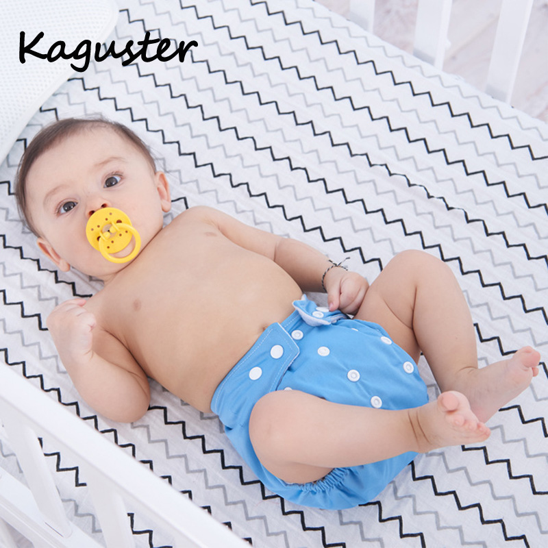 Reusable Cloth Diaper Waterproof Cartoon Soft Wholesale Baby Nappy Adjustable Training Pants Diapers Cover Inserts For Newborn