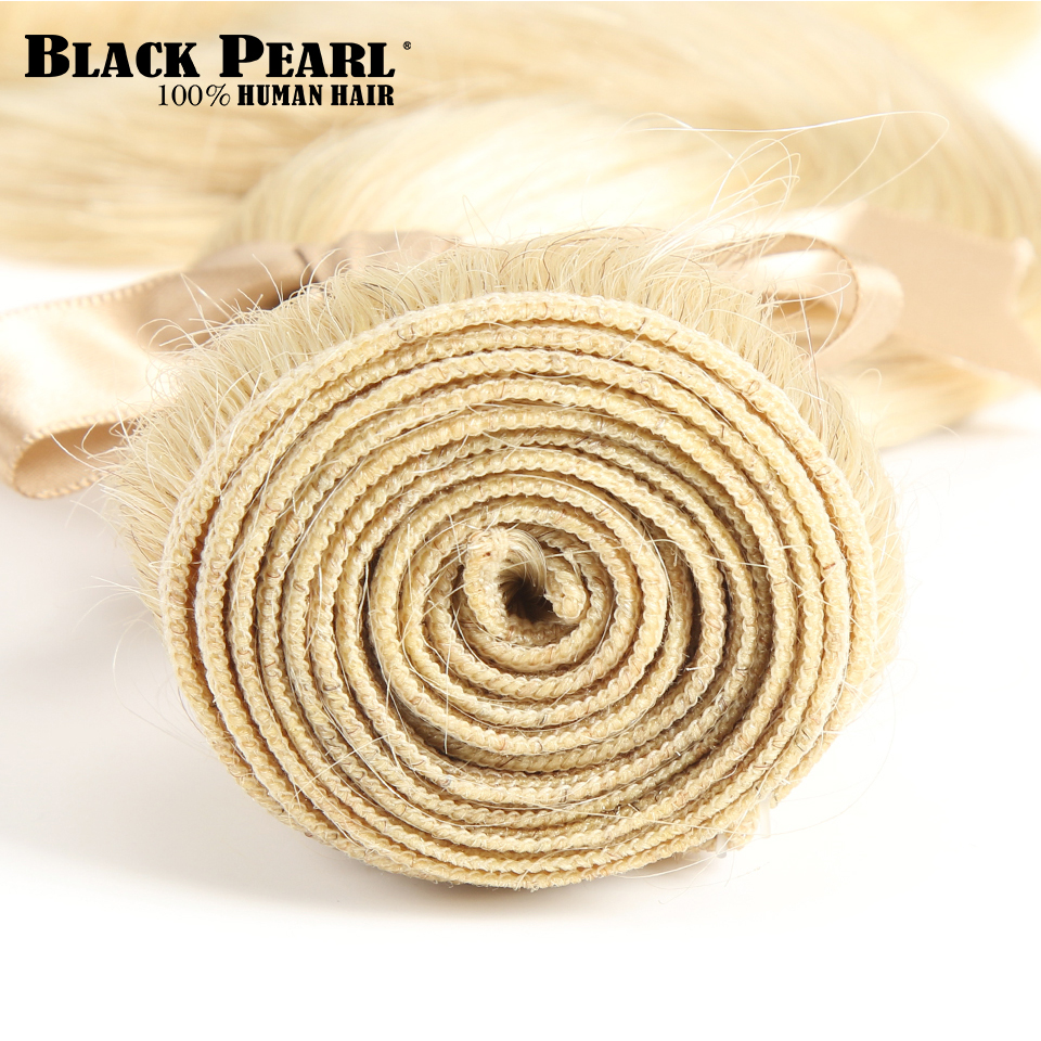 H1474f0d5f4e54ccb8cf1aa485e37ed747 Black Pearl 613 Blonde Bundles With Closure Malaysian Body Wave Remy Human Hair Weave Honey Blonde 613 Bundles With Closure