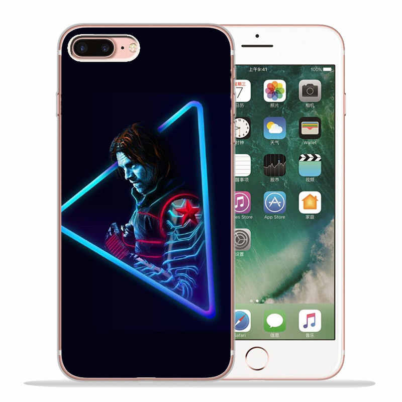 Роскошный чехол Marvel для iPhone X XR XS Max 5 5S SE 6 6S 7 8 Plus силиконовый чехол Coque capinha Etui Железный человек Тор ракета