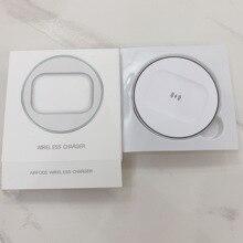 Беспроводное зарядное устройство для Apple AirPods 2 Pro, наушники Airpod с автоматической остановкой, зарядная площадка QI, TWS, Bluetooth-наушники, новинка ...