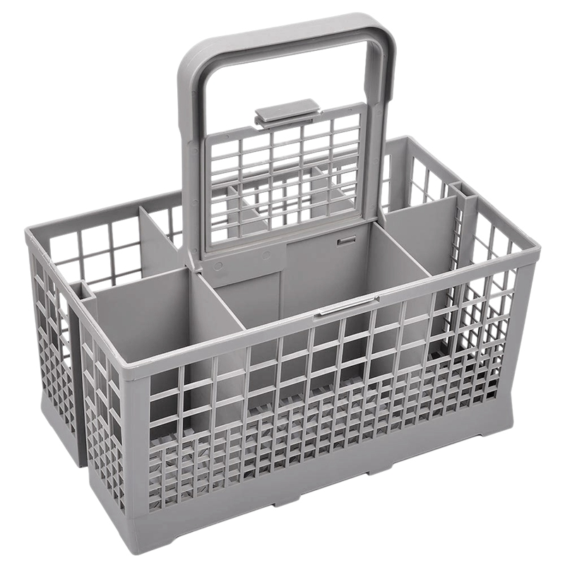 Universal Dishwasher Cutlery Basket Dishwasher Cage Parts Plastic Replacement Rack Cutlery Holder Cooking Utensils Fits for Dish Racks & Holders     - title=