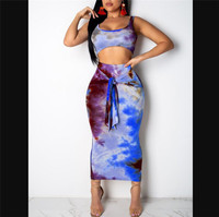 Top Skirt Blue
