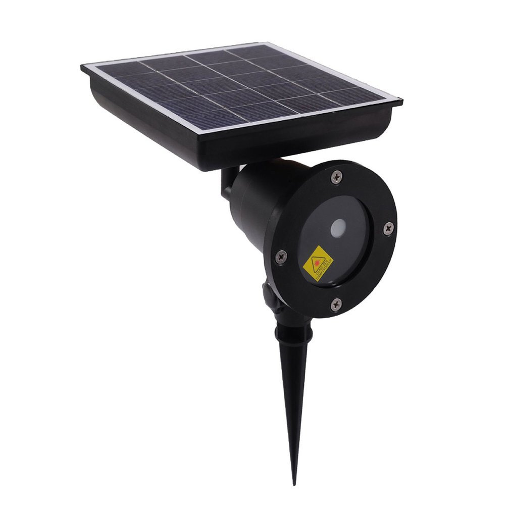 Solar Powered Christmas Laser Light Projector Sky Star Stage Showers Ip65 Landscape Garden Lawn Light Lamp Projector Sale