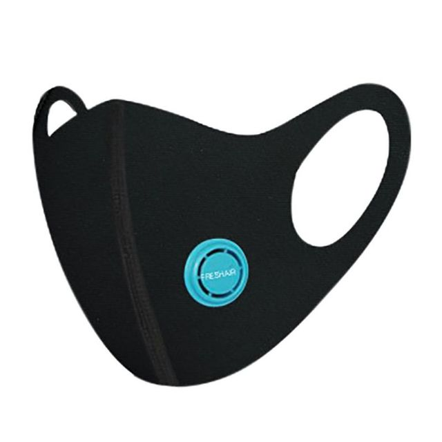 Cotton PM2.5 Black mouth Masks anti dust mask Activated carbon filter Windproof Mouth-muffle bacteria proof Flu Face masks 4