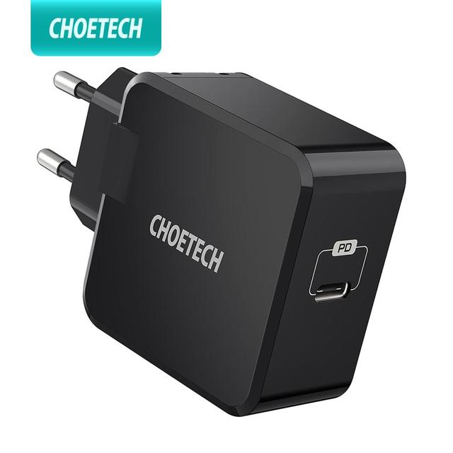 CHOETECH PD Charger 30W USB Type C Fast Charger for iPhone 11 X Xs  Macbook Phone QC3.0 USB C Quick Charge QC PD 3.0 Charger