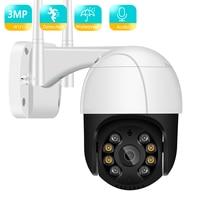 BESDER 3MP 2MP PTZ telecamera Wi-Fi intelligenza artificiale rilevazione di movimento umano telecamera Ip impermeabile Audio bidirezionale visione notturna IR