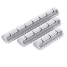 Cable Clips, Cable Management Clips, 3 Pack Silicone Adhesive Wire Cable Holder, Cable Cord Management Organizer