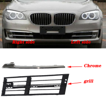 pair Car Front Grilles Daytime Running Light Cover Grille 51117295275 51117295276 51117295355 51117295356 For BMW F01 F02 13 15