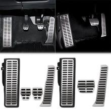 Acelerador do carro pedal de freio gás embreagem apoio para os pés pedal para vw tiguan touran golf 5 6 jetta mk5 mk6 para skoda octavia a5 yeti