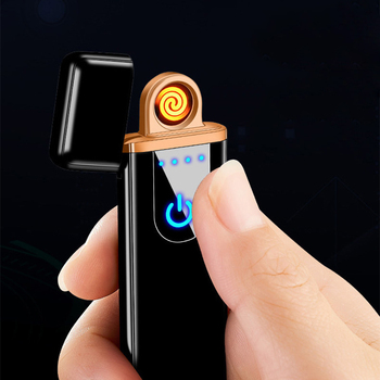 Ultra Thin Mini USB Metal Lighters 1