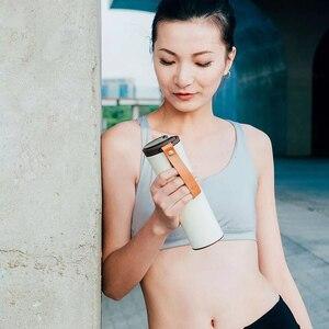 Image 5 - Youpin オリジナルキスキス魚スマートステンレス鋼熱真空水ボトル感熱温度センサーとコーヒー