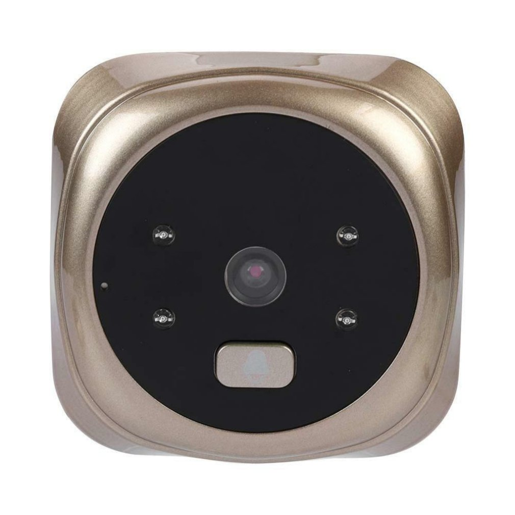 2.4 Inch High Definition Intelligent Electronic Cat Eye Visual Doorbell Automatic Photo Recording Night Vision