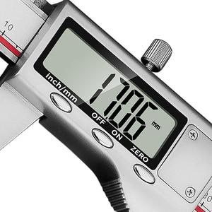 Image 3 - Dial Caliper 150mm Digital Vernier Caliper 300mm Lcd Digital Electronic Measure Gauge Metal Caliper Stainless Steel