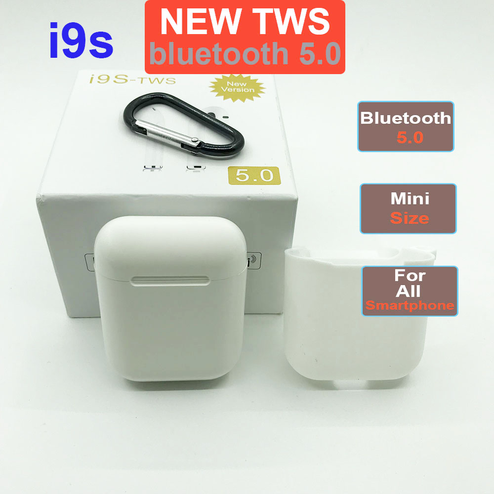 i9s <font><b>TWS</b></font> <font><b>2019</b></font> Wireless Earphone Portable Bluetooth 5.0 Headset Earbud Mic for iphone Android Auriculares fone sem fio audifonos image