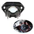Motorcycle 3K Carbon Fiber front front lock cover Decorative Modification Cover For Honda CB650R CBR650R 2019 +