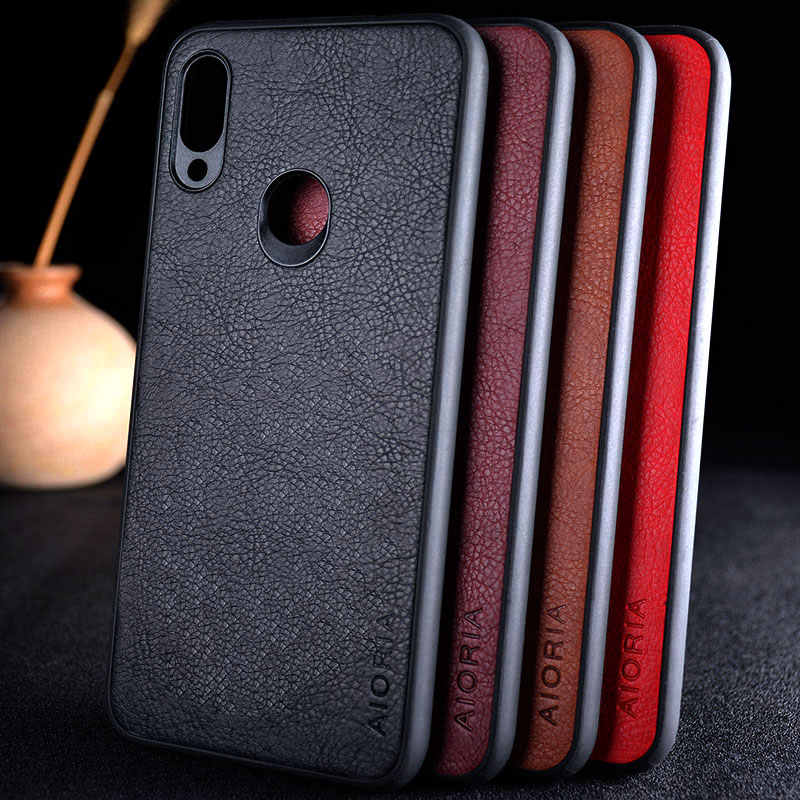 for xiaomi redmi note 5 7 pro S2 7A 6A case cover for  Luxury Leather Vintage Litchi skin funda capa for Xiaomi redmi 6 coque