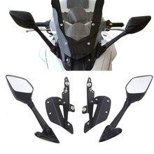 Für YAMAHA NMAX 155 NMAX 125 Motorrad Rückspiegel Windschutzscheibe Halterung Geändert Motorrad Zubehör