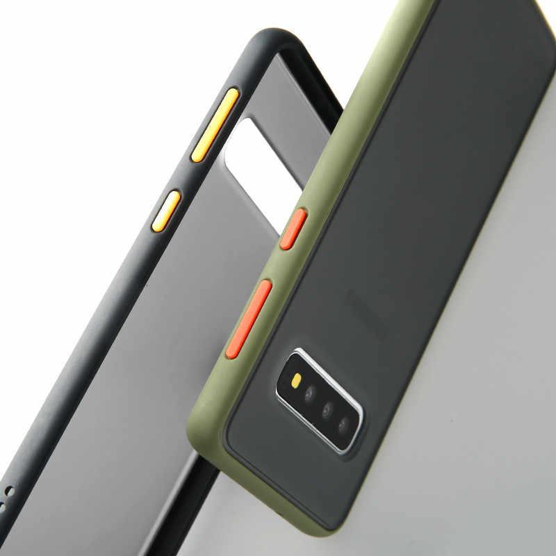 Darbeye dayanıklı zırh telefon samsung kılıfı Galaxy A10S A10 A20 A20E A30 A40 A50 A60 A70 A80 S10 S9 S8 artı S10E not 10 Pro 9