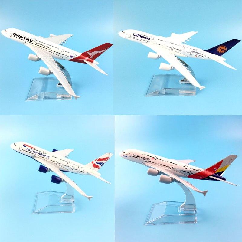 14-20CM AIR PLANE  AIRCRAFT MODEL MODEL PLANE SIMULATION  ALLOY CHRISTMAS TOYS GIFT KIDS