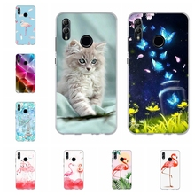 For Huawei Honor 6A 8X Case Soft TPU Silicone 9 Lite Cover Flowers Patterned 10 Shell