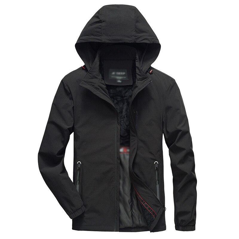 2019New arrivée mode hommes hiver chaud polaire à capuche veste manteau zipper décontracté épaissir extensible blouse décontractée coton rembourré haut