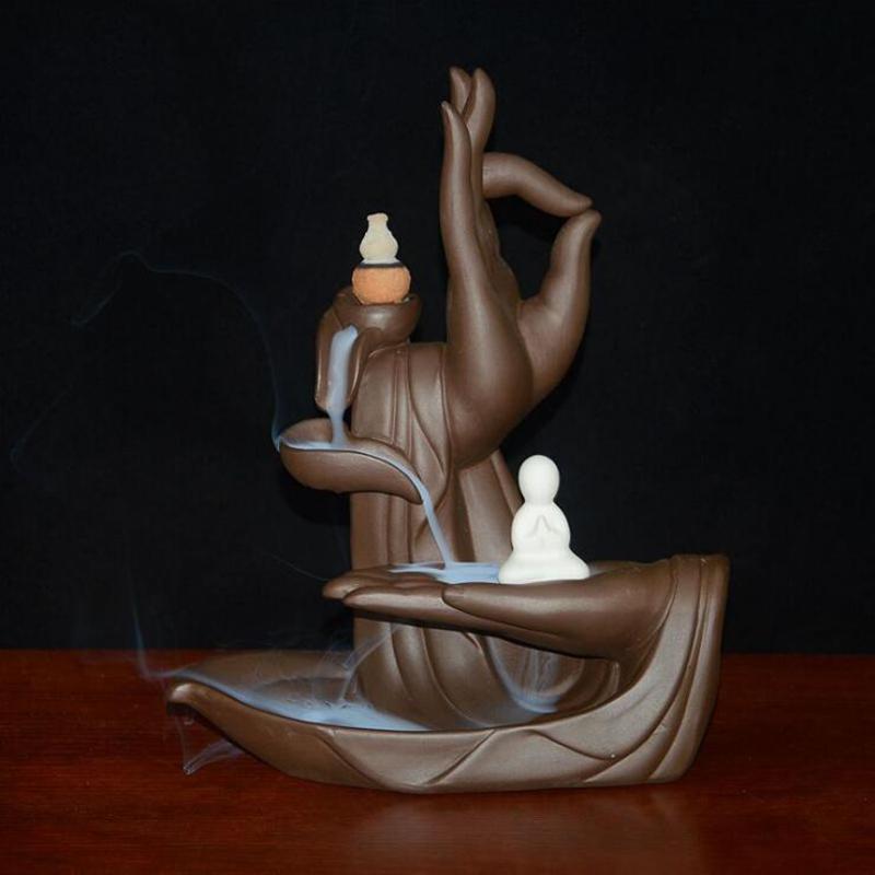 Cascada zen con flor de loto 2