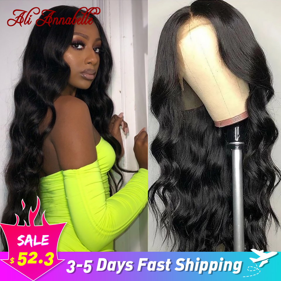 Brazilian Body Wave Lace Front Wig Ali Annabelle Human Hair Wigs 28 inch Pre Plucked Wig 13x4 13x6 Lace Front Human Hair Wigs