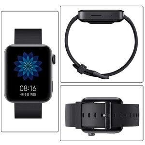 Image 5 - Xiao mi mi relógio inteligente gps nfc wifi esim telefone chamada pulseira relógio de pulso esporte bluetooth fitness freqüência cardíaca mi bluetooth relógio