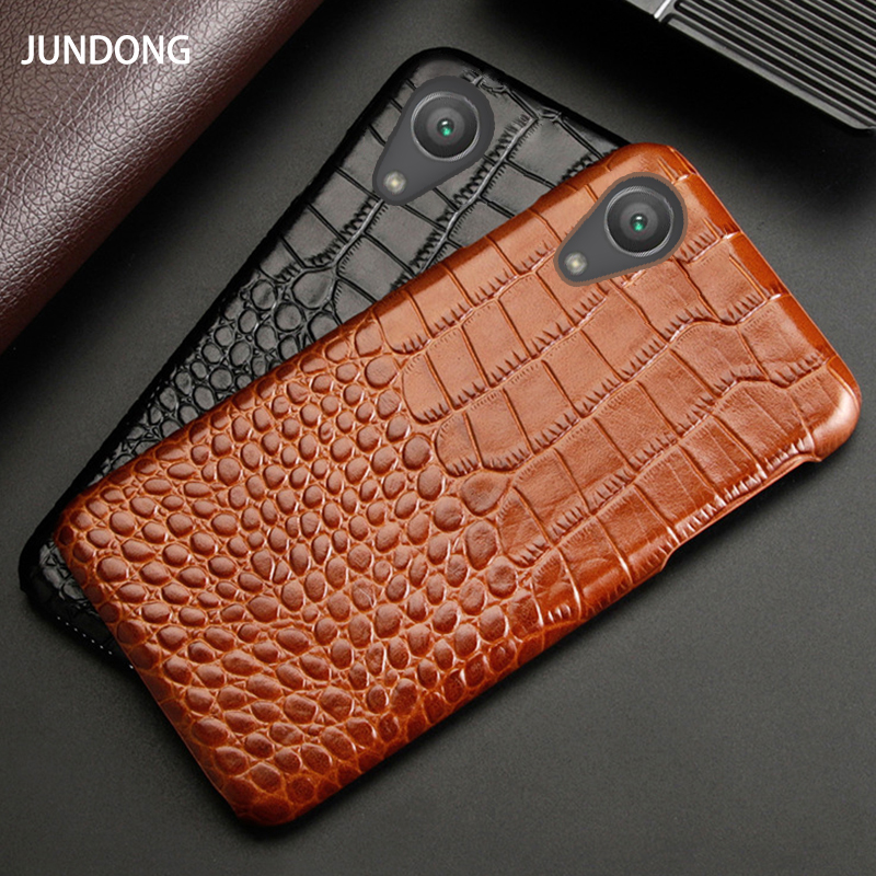 Leather Phone Case For Sony Xperia XA XA1 XA2 XA3 Ultra Z2 Z3 Z4 Z5 XZ XZ1 XZ2 Premium XZ3 XZ4 X Mini 1 5 8 10 Crocodile Texture image