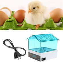 Digital Temperature Small Brooder 4 Mini Hatchery Egg Incubator Hatcher for Chicken Duck Bird Pigeon Quail AU Plug(China)