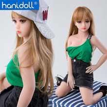 Hanidoll Silicone Sex Dolls 100cm Mini Love Doll TPE Full Sized Realistic Ass Oral Vagina Big Breast Toys for Men