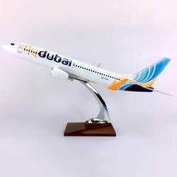 40 см 1/111 весы FLY Дубай Boeing B737-800 авиалиний самолет авиационная модель игрушечный самолет литой под давлением пластиковый сплав самолет