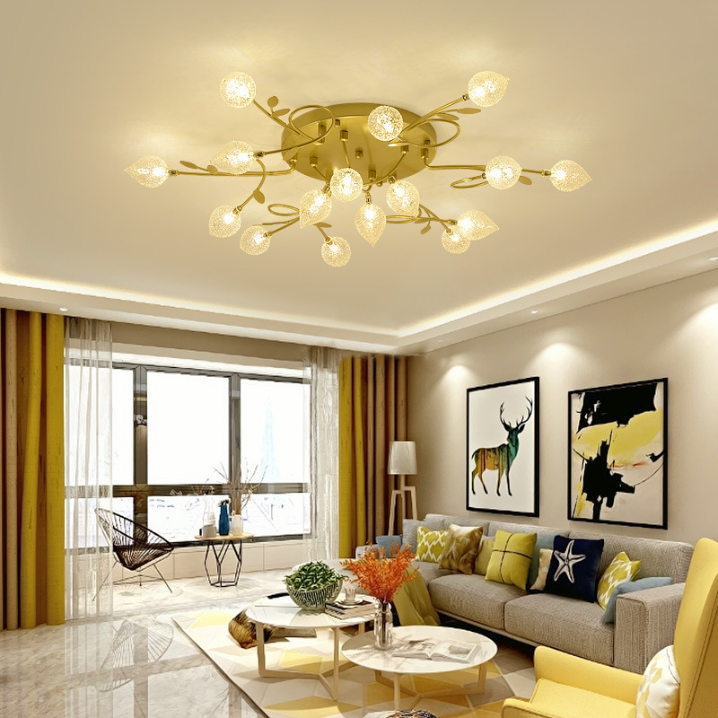 Led Attract Top Light Cozy Bedroom Study Northern Europe Post Modern Concise Light Luxurious A Living Room Originality